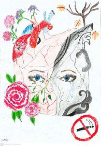 Οι μαθητές ζωγραφίζουν για μια Ζωή χωρίς κάπνισμα