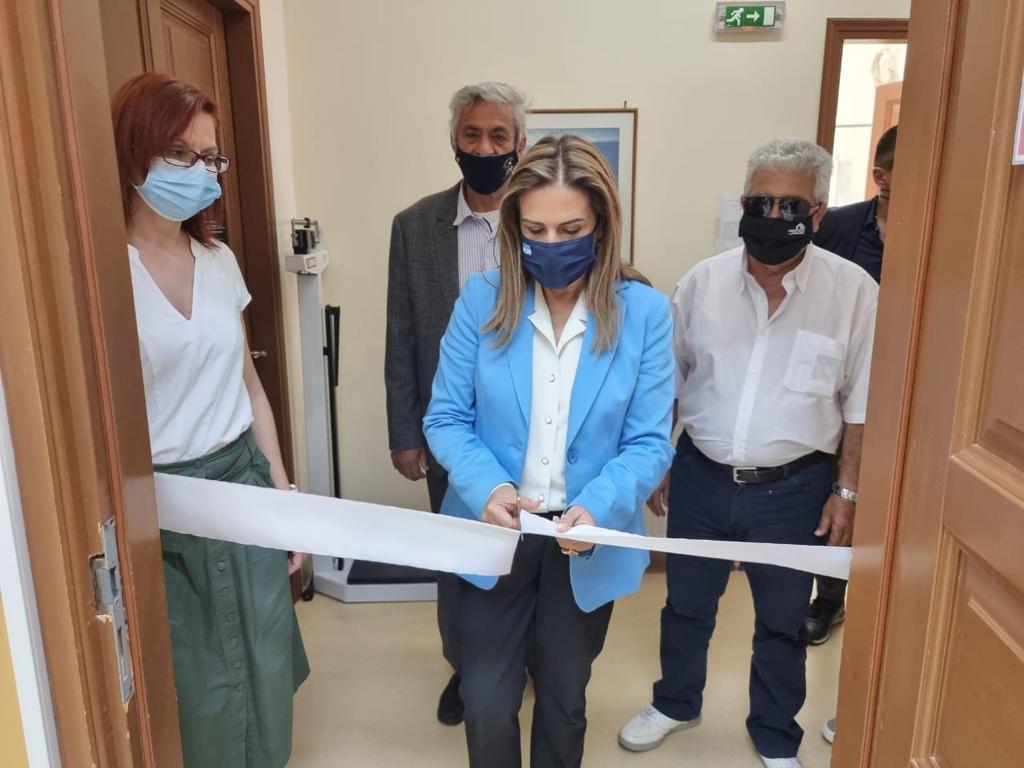 Επίσκεψη Υφυπουργού Υγείας Ζωής Ράπτη στο Καστελόριζο