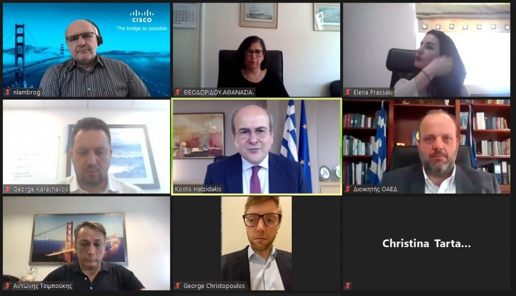 Κ. Χατζηδάκης: Με τα ελληνικά Πανεπιστήμια και διεθνείς κολοσσούς ανεβάζουμε το επίπεδο της κατάρτισης