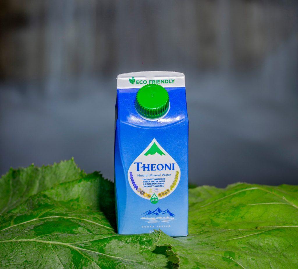 ΘΕΟΝΗ Το Μοναδικό Ελληνικό Φυσικό Μεταλλικό Νερό σε καινοτόμο χάρτινη συσκευασία