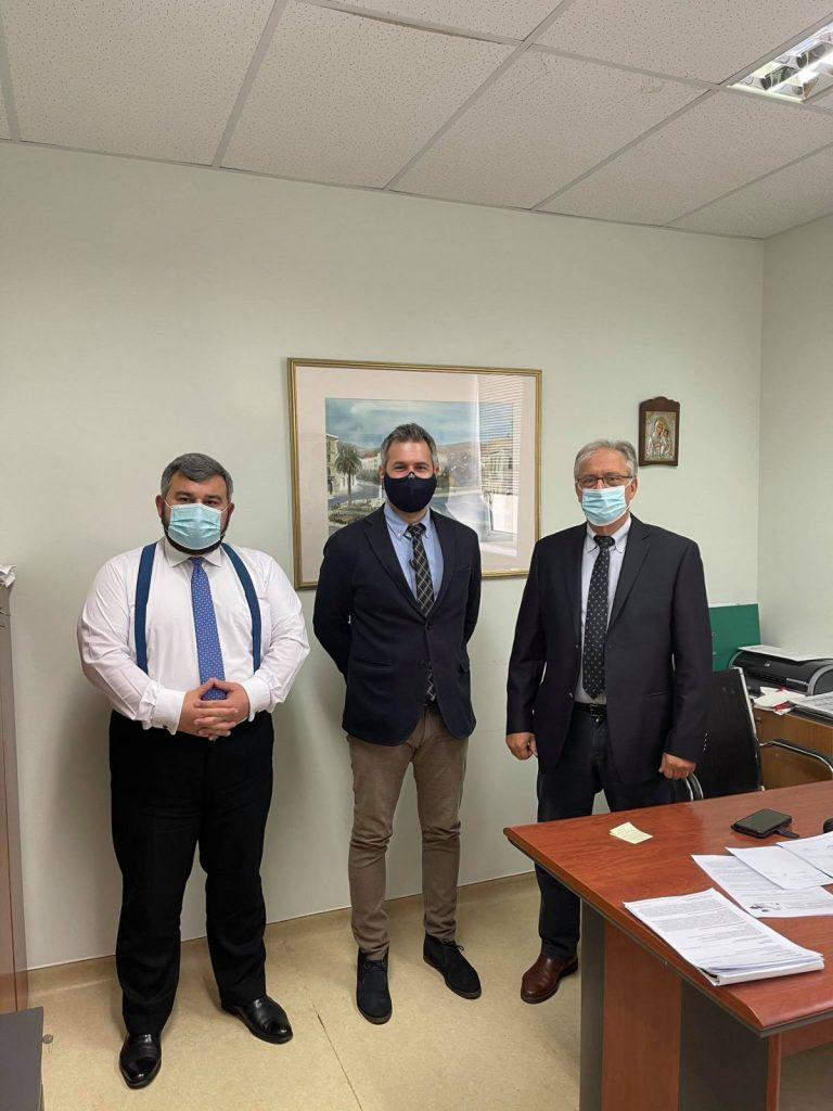 Συνάντηση του Προέδρου του ΚΕΤΕΚΝΥ με τη Διοίκηση του Γενικού Νοσοκομείου Σύρου