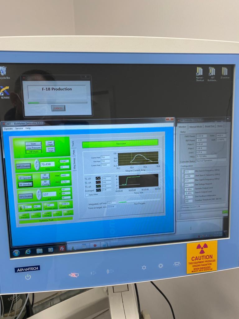 Για πρώτη φορά παραγωγή ραδιοφαρμάκου σε ελληνικό νοσοκομείο