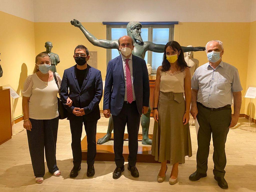 Επίσκεψη υπουργού Εργασίας και Κοινωνικών Υποθέσεων Κωστή Χατζηδάκη στο Φάρο Τυφλών