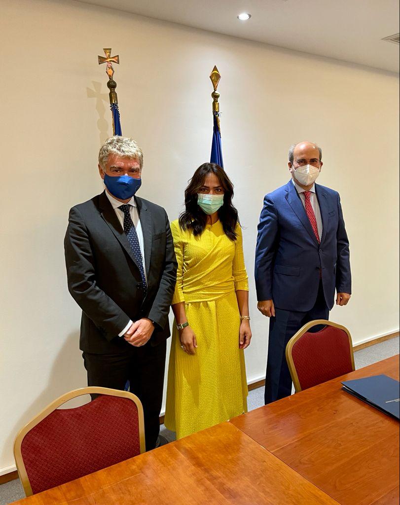 Συνάντηση του Κωστή Χατζηδάκη με τον Γενικό Διευθυντή Στήριξης Διαρθρωτικών Μεταρρυθμίσεων MarioNava
