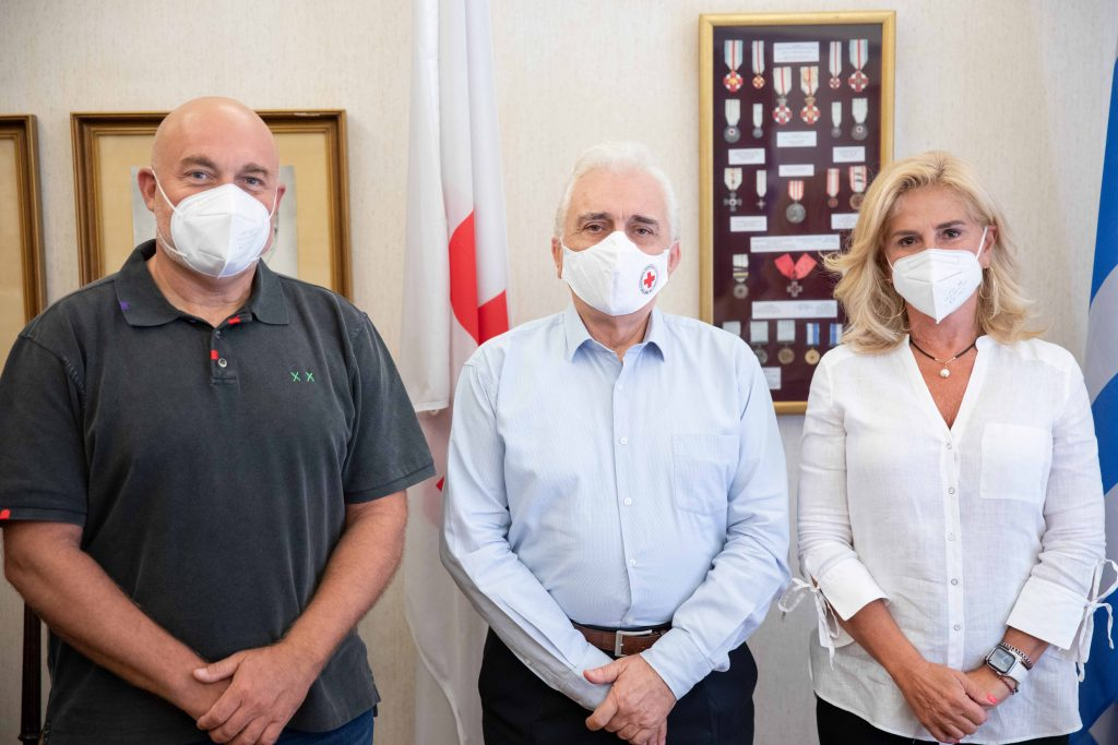 Ο Ελληνικός Ερυθρός Σταυρός ενισχύει το έργο της Ομάδας Αιγαίου στα ακριτικά νησιά