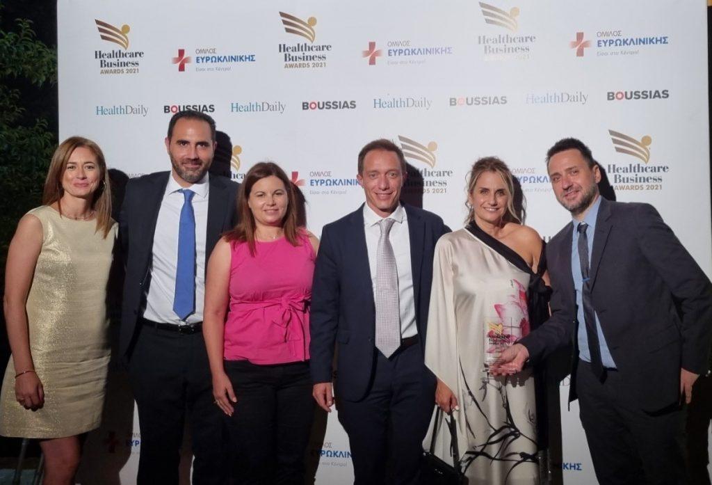Xρυσή διάκριση για την AstraZeneca στα HealthcareBusinessAwards 2021 στην κατηγορία «Καινοτομία και Νέες Τεχνολογίες»