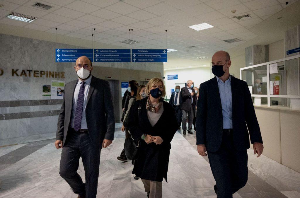 Περιοδεία Αναπληρώτριας Υπουργού Υγείας Μίνας Γκάγκα στη Β. Ελλάδα