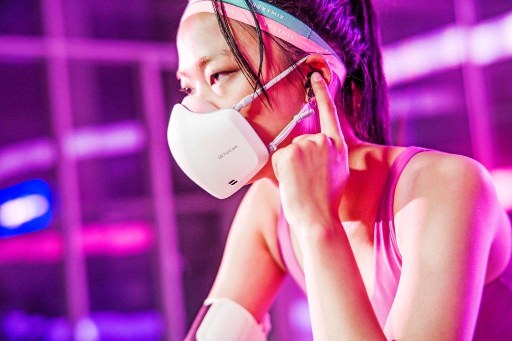 H ανανεωμένη μάσκα Air Purifier Puricare™ της LG ανοίγει νέους ορίζοντες στην προπόνηση των αθλητών