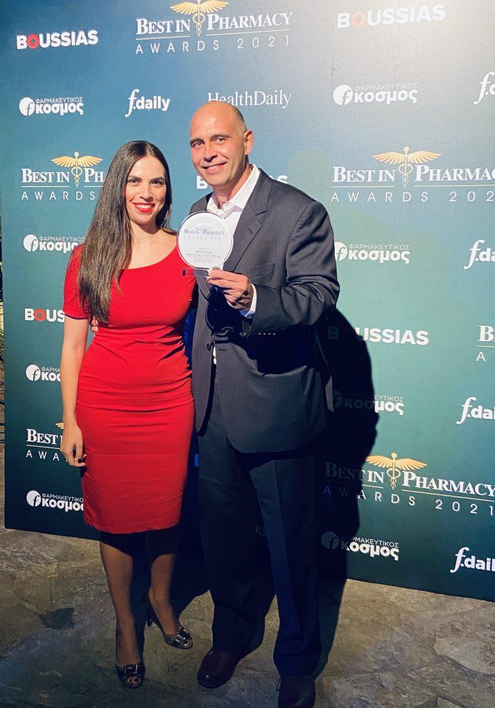 Silver βραβείο για την Angelini Pharma Hellas στα Best in Pharmacy Awards 2021